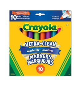 Crayola 10 marqueurs ultra lav. couleurs vives