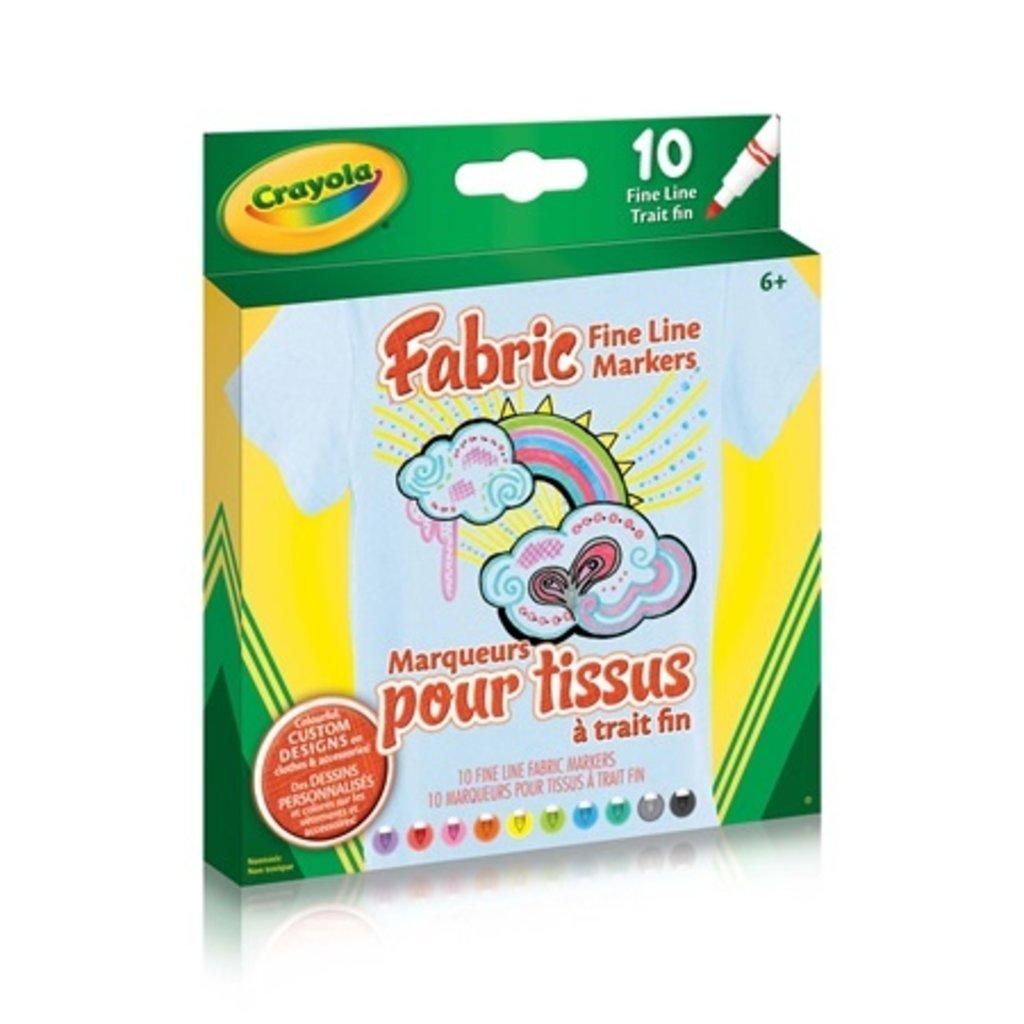 Crayola marqueurs de tissu Pack de 10