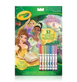 Crayola Bloc a colorier/ activités princesse