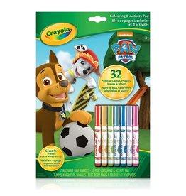 Crayola Bloc à colorier et activités pat patrouille