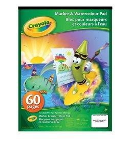 Crayola Blocs pour marqueurs et couleurs à eau