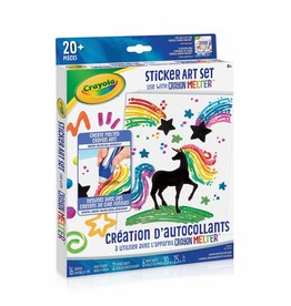 Crayola Création d'autocollants  crayon Melter