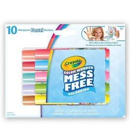 Crayola 10 mini marqueurs pastel