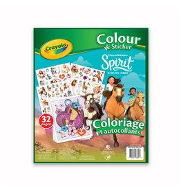 Crayola CLR et collants Spirit