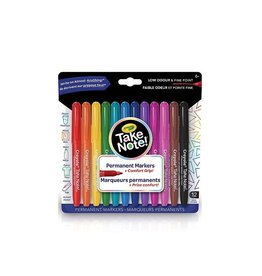 Crayola 12 marqueurs permanents take note