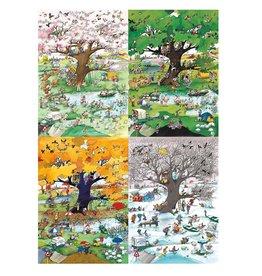 Heye 2000 pcs, 4 Seasons, Blachon*