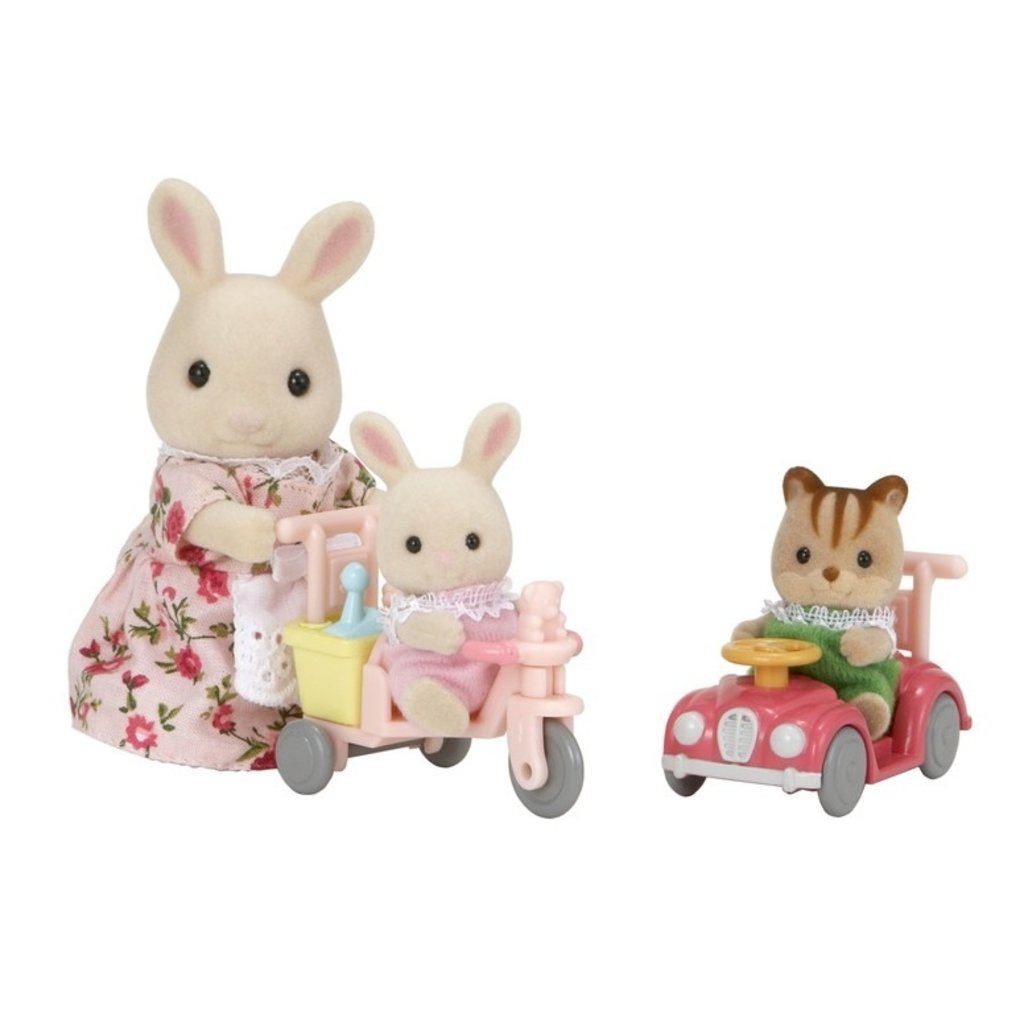 Calico Critters Apple & Jake's Ride 'n Play