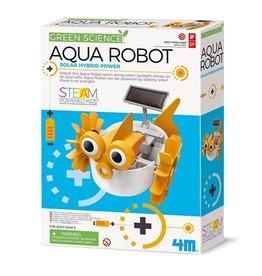 4M Ensemble de fabrication d'un robot à eau hybride à énergie solaire