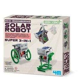 4M Ensemble de création de robot solaire - 3 en 1