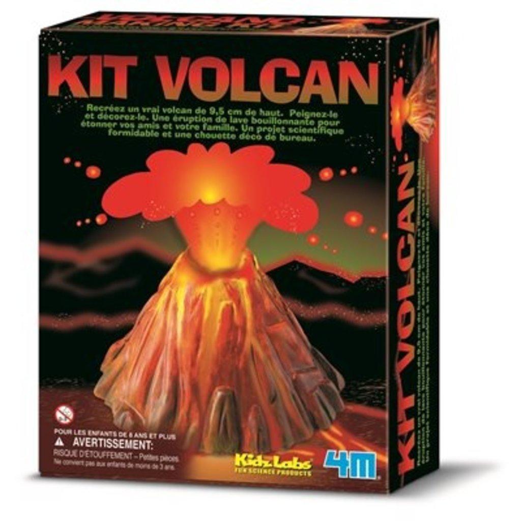 4M Ensemble de création de volcan