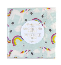Great Pretenders Ensemble de 20 serviettes de licorne