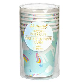 Great Pretenders Ensemble de 8 verres de licorne