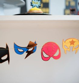 Great Pretenders Guirlande masques de super-héros