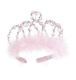 Great Pretenders Tiare de Princesse rose et argent