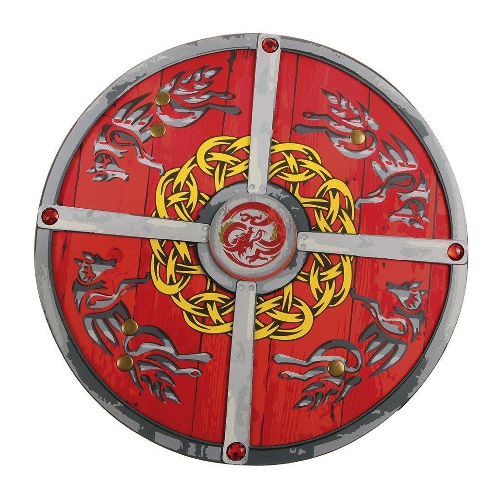 Great Pretenders Bouclier de ninja noir et rouge
