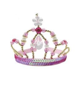 Great Pretenders Diademe fée princesse rose et or