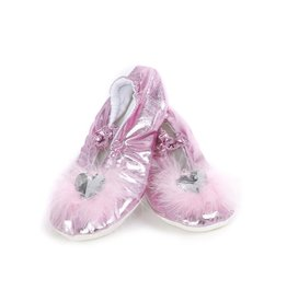 Great Pretenders Chaussons de princesse roses taille 12-13