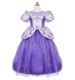 Great Pretenders Robe royale de princesse lilas taille 3-4