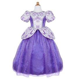 Great Pretenders Robe royale de princesse lilas taille 7-8