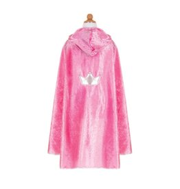 Great Pretenders Cape de princesse rose taille 3-4