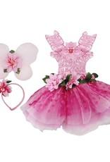 Great Pretenders Costume-Fleur de Fée -Rose  3-4 ans