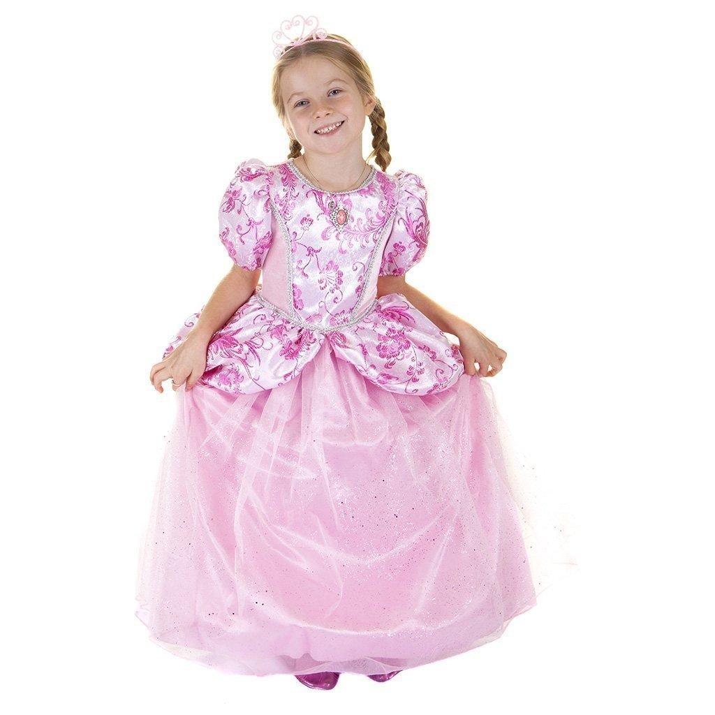 Great Pretenders Robe royale princesse -rose 3-4 ans