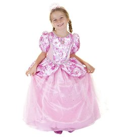 Great Pretenders Robe royale princesse -rose 3-4 ans