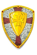 Great Pretenders Bouclier jaune de chevalier croisé