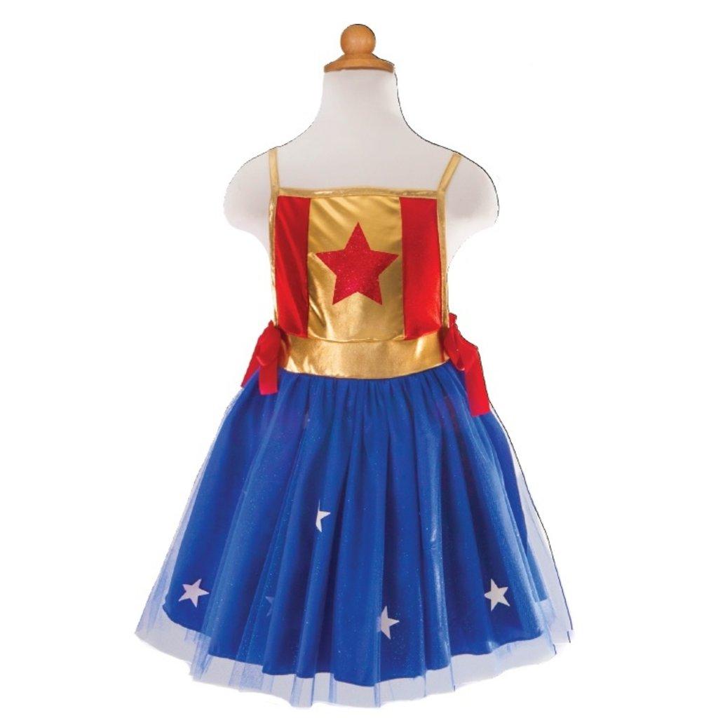 Great Pretenders Costume de super-héro taille 4-7