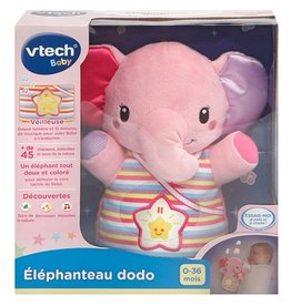VTech Éléphanteau dodo rose