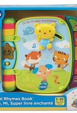 Vtech Do Re Mi Super Livre Enchante