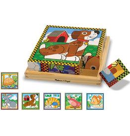 Melissa & Doug Cube Puzzle Animaux