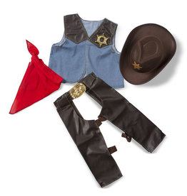 Melissa & Doug Costume-cow-boy