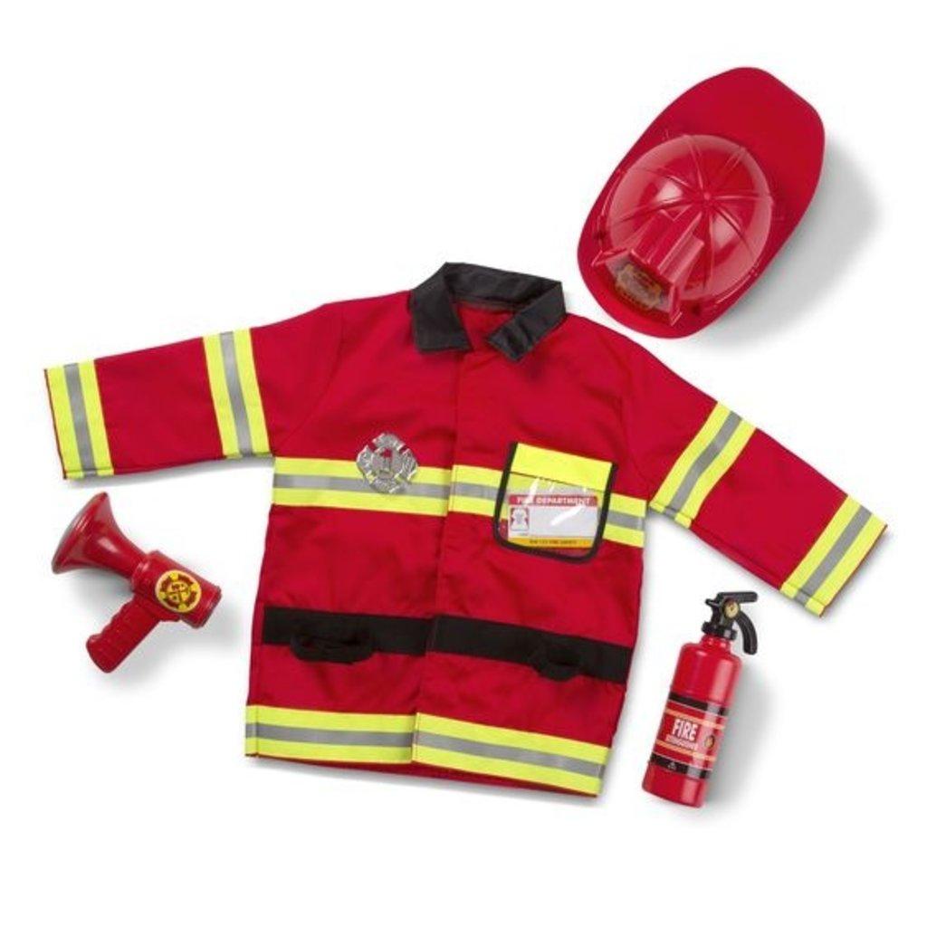 Melissa & Doug Costume-pompier
