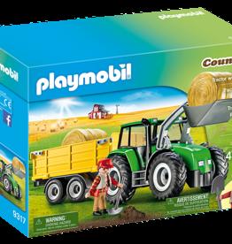 Playmobil 9317 Tracteur avec remorque