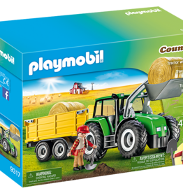 Playmobil Country 9317 Tracteur avec remorque