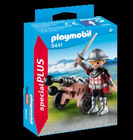 Playmobil 9441 Chevalier avec canon