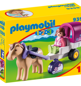 Playmobil 9390 Carriole avec cheval