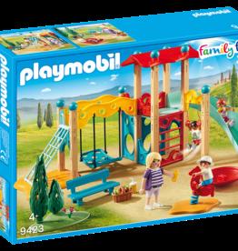 Playmobil 9423 Parc de jeu avec toboggan
