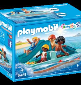 Playmobil Family Fun 9424 Pédalo avec 4 personnages