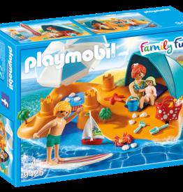 Playmobil 9425 Famille de vacanciers et tente