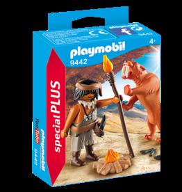 Playmobil 9442 Homme des cavernes avec tigre a dents de sabre
