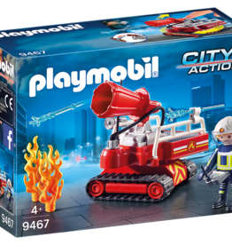 Playmobil 9467 Pompier avec robot d'intervention