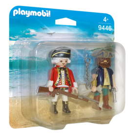 Playmobil 9446 Pirate et soldat