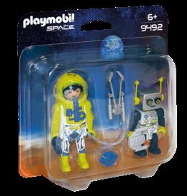 Playmobil 9492 Duo spationaute et robot