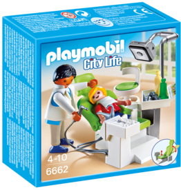 Playmobil City Life 6662 Cabinet de dentiste