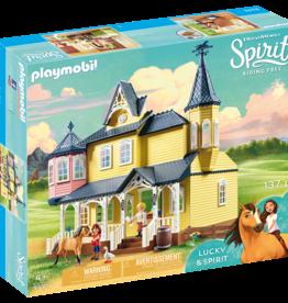 Playmobil 9475 la maison de Lucky