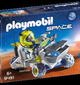 Playmobil 9491 Spationaute avec véhicule d'exploration spatiale