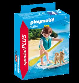 Playmobil 9354 Sportive avec paddle