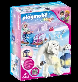 Playmobil 9473 Yeti avec traîneau